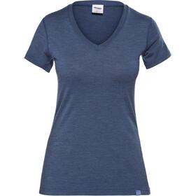 Bergans Bloom Camiseta de Lana Mujer, azul